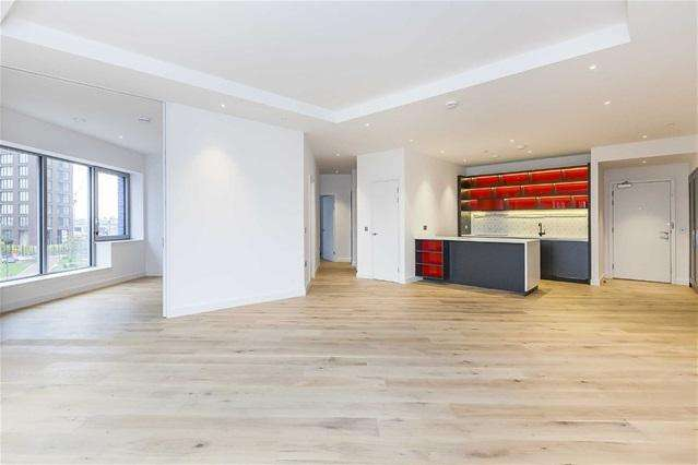 3 Bedrooms Flat for sale in Hercules House, City Island