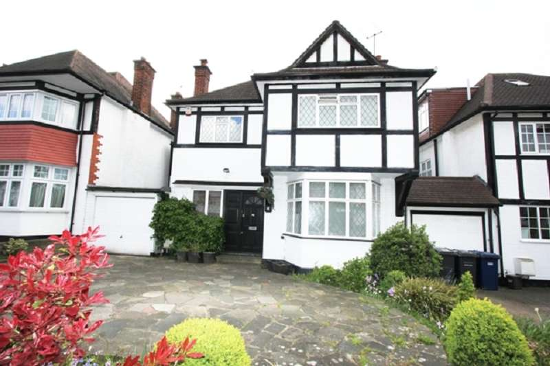 4 Bedrooms Detached House for sale in Hazel Gardens, Edgware, Greater London. HA8 8PE