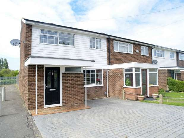 3 Bedrooms End Of Terrace House for sale in Gadesden Road, West Ewell