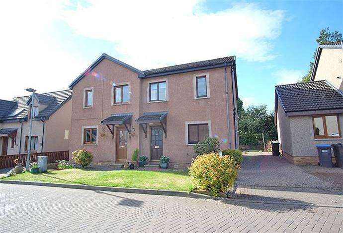 3 Bedrooms Semi Detached House for sale in 22 Roger Quin Gardens, Galashiels, TD1 3NQ