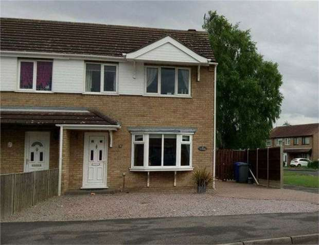 3 Bedrooms Semi Detached House for sale in The Graylings, Boston, Lincolnshire