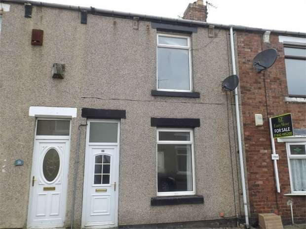 2 Bedrooms Terraced House for sale in Hallgarth Terrace, Ferryhill, Durham