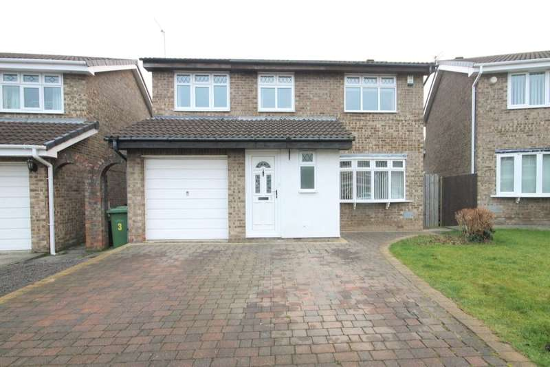 4 Bedrooms Detached House for sale in Rothley, Washington, NE38
