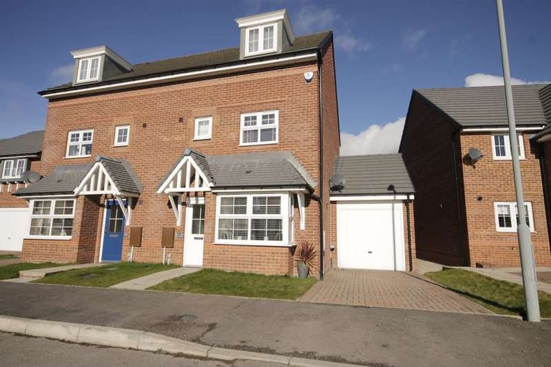 4 Bedrooms Semi Detached House for sale in Abbotts Way, Consett, DH8