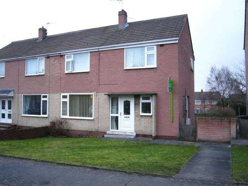 3 Bedrooms Semi Detached House for sale in Hawthorn Close, Kimblesworth, Chester Le Street, DH2