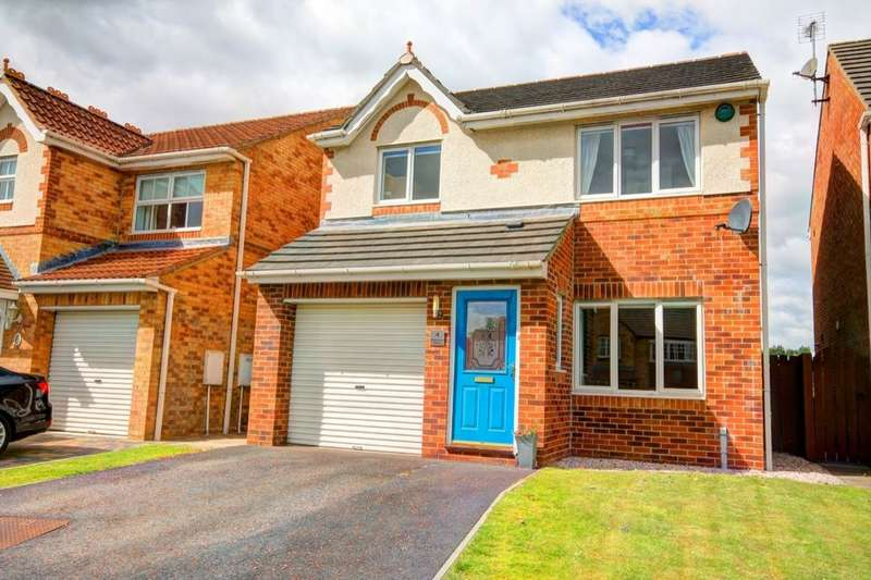 3 Bedrooms Detached House for sale in Richmond Drive, Woodstone Village, DH4