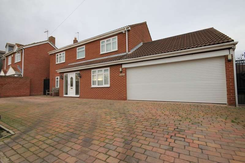 4 Bedrooms Detached House for sale in Woodburn Close, New Lambton, DH4