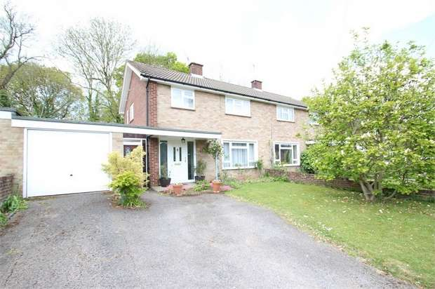 3 Bedrooms Semi Detached House for sale in Applegarth Avenue, GUILDFORD, Surrey