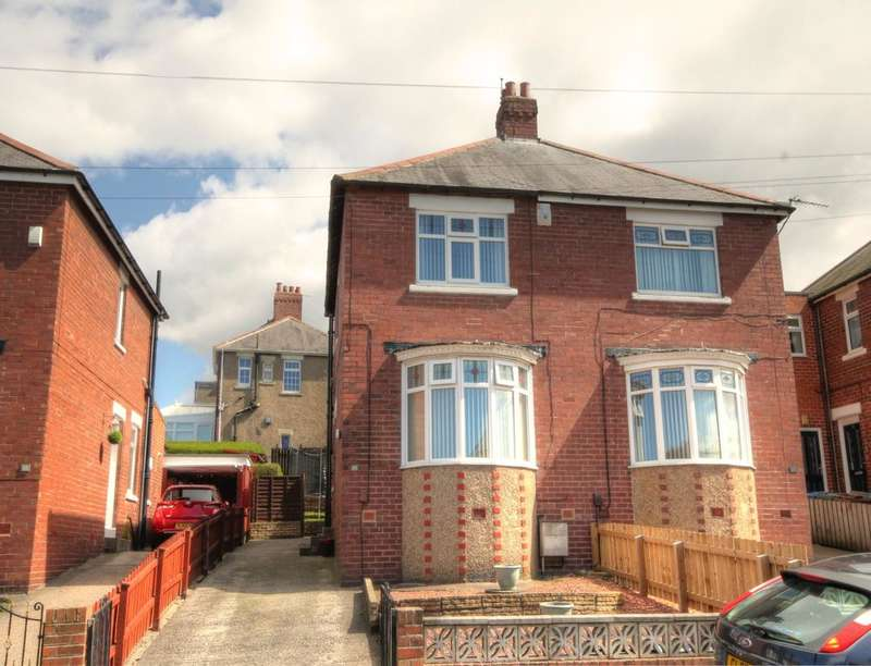 2 Bedrooms Semi Detached House for sale in Bexley Avenue, Denton Burn, Newcastle Upon Tyne, NE15