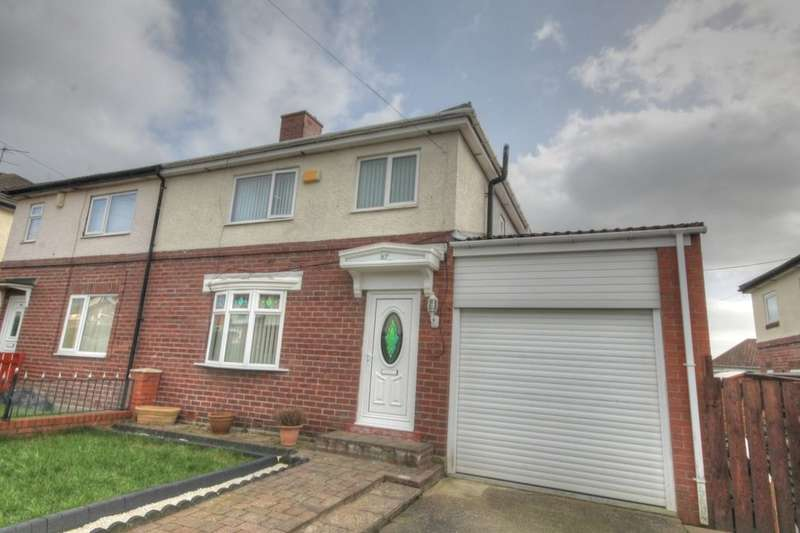 3 Bedrooms Semi Detached House for sale in Westway, Throckley, Newcastle Upon Tyne, NE15