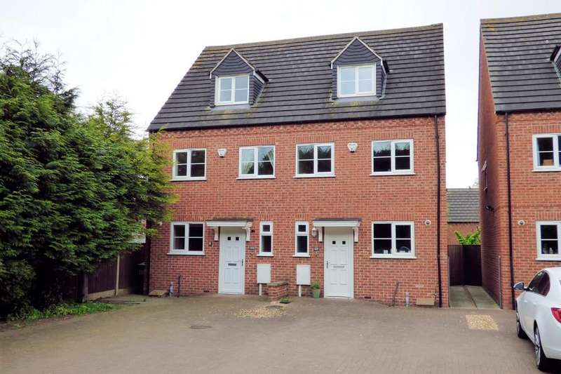 4 Bedrooms Semi Detached House for sale in Wetmore Road, Burton-on-Trent