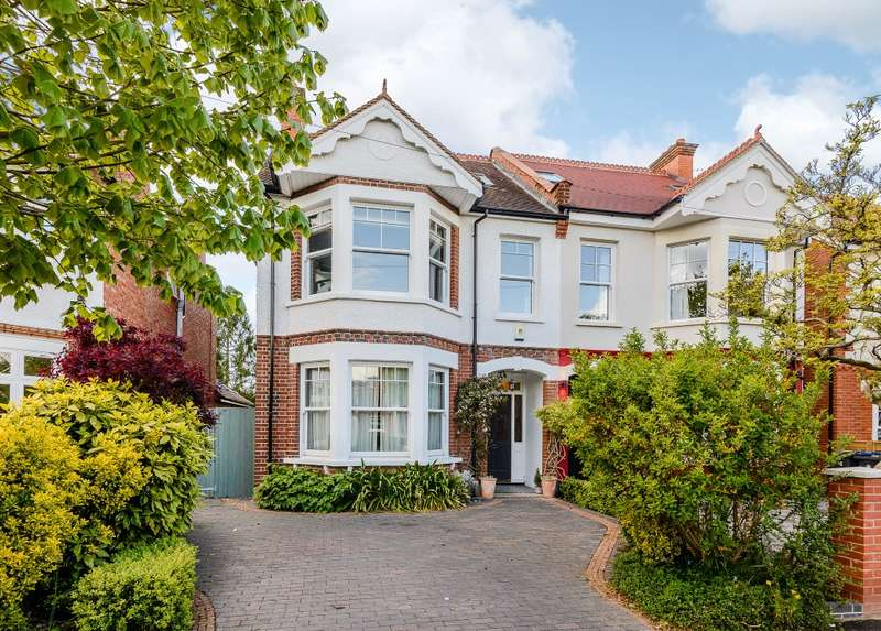 6 Bedrooms Semi Detached House for sale in Malden Hill