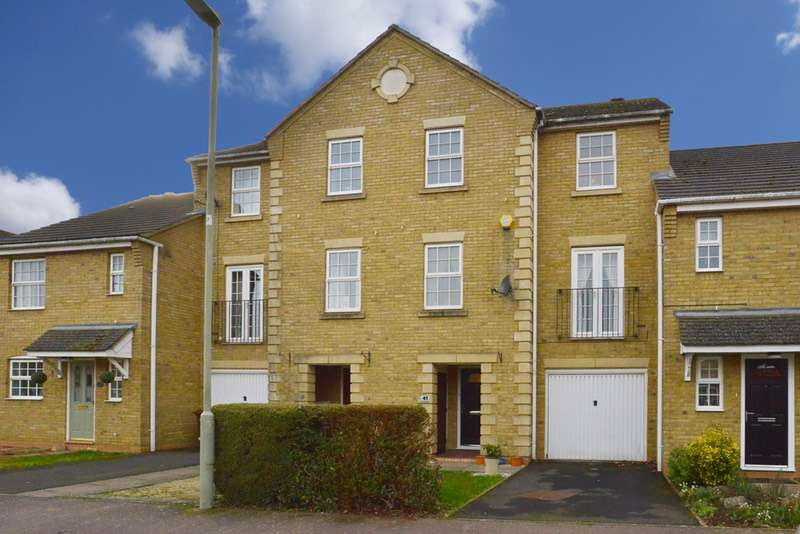 4 Bedrooms Town House for sale in Mullein Road Bure Park, Bicester, Oxfordshire, OX26