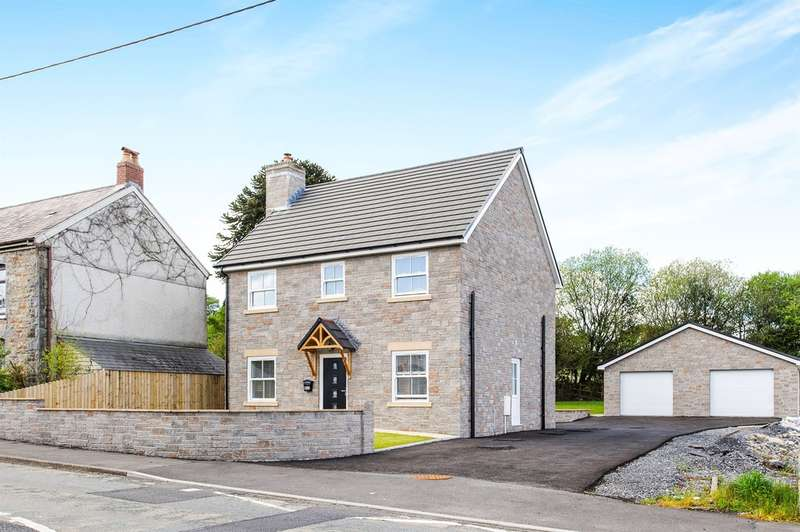 4 Bedrooms Detached House for sale in Heol Bryngwili, Cross Hands, Llanelli