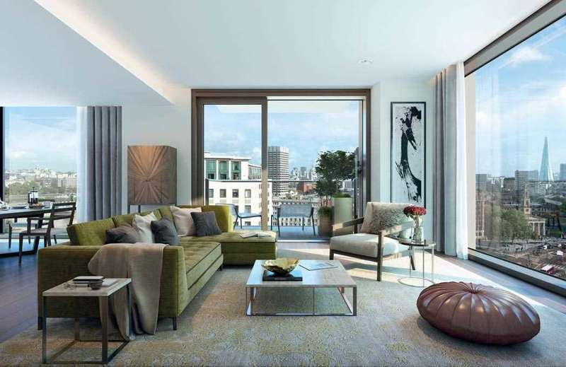 2 Bedrooms Apartment Flat for sale in Thirty Casson Square, Southbank Place, London
