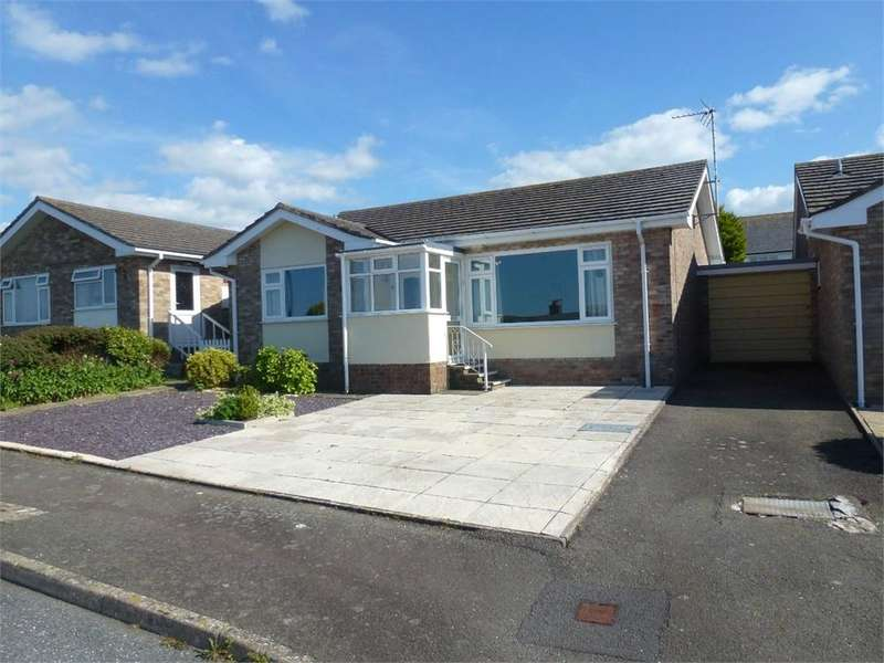 2 Bedrooms Semi Detached Bungalow for sale in 21 Ffordd Y Bedol, Aberporth, Cardigan, Ceredigion