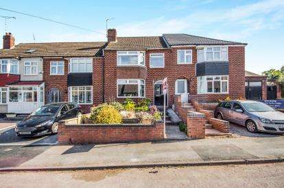 3 Bedrooms Terraced House for sale in Hallbrook Road, Keresley, Coventry, England