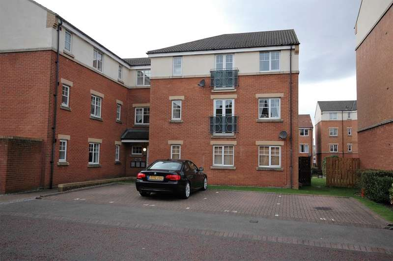 2 Bedrooms Apartment Flat for sale in Redgrave Close, Gateshead, Tyne and Wear, NE8