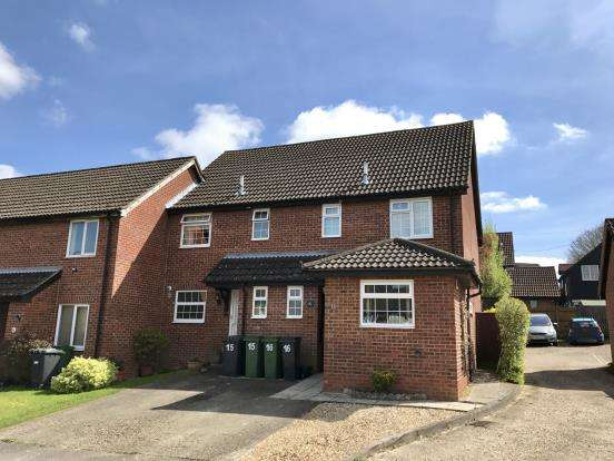 3 Bedrooms End Of Terrace House for sale in Kempshott Rise, Basingstoke, Hampshire