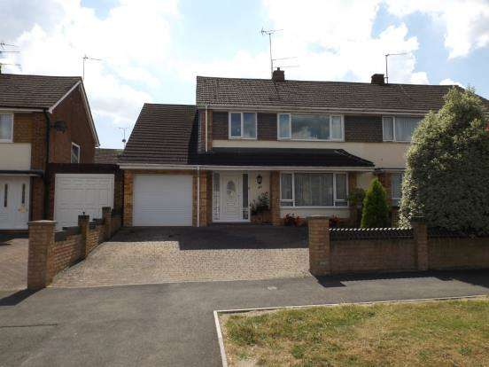 4 Bedrooms Semi Detached House for sale in Tilehurst, Reading, Berkshire