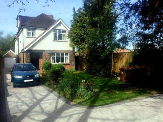 4 Bedrooms Detached House for sale in Send, Woking, Surrey