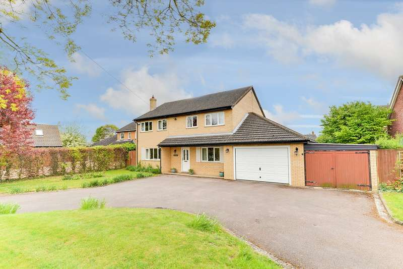 4 Bedrooms Detached House for sale in Cross Lane, Melbourn, Royston, SG8