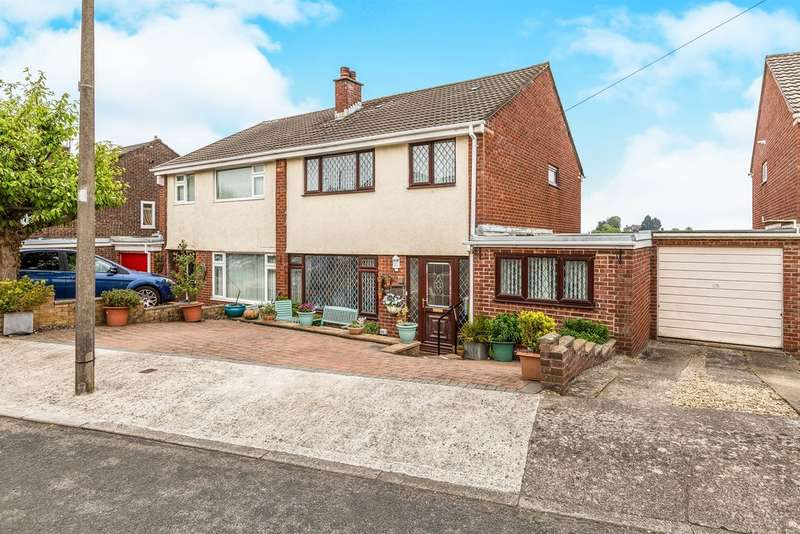 3 Bedrooms Semi Detached House for sale in Heath Avenue, Penarth