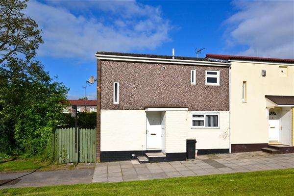 3 Bedrooms End Of Terrace House for sale in Ferndale, Skelmersdale