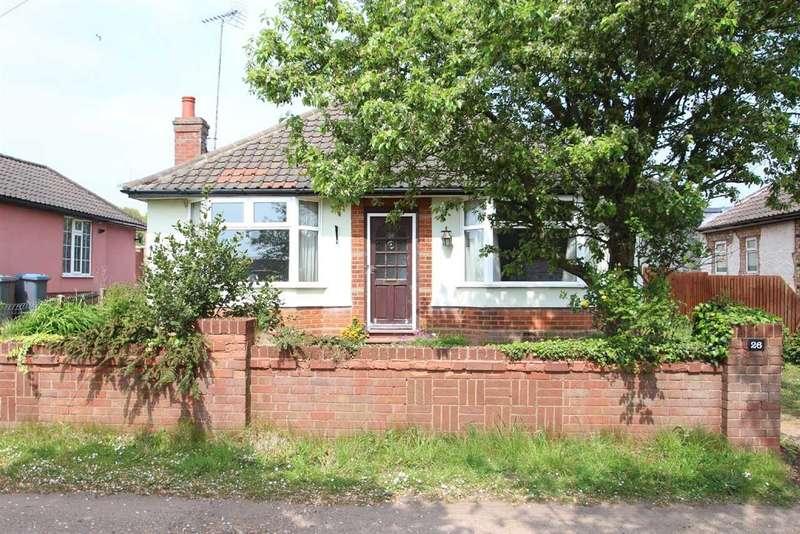 2 Bedrooms Bungalow for sale in Woodbridge Road, Rushmere St. Andrew, Ipswich