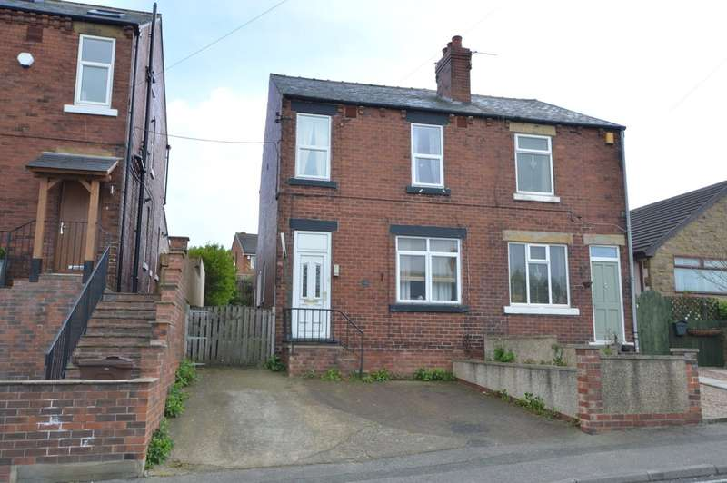 3 Bedrooms Semi Detached House for sale in Cliff Road, Crigglestone, Wakefield