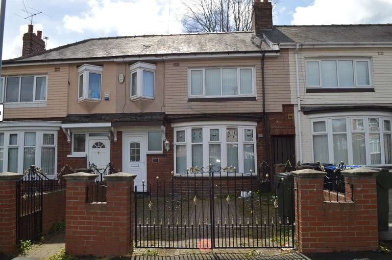 3 Bedrooms Terraced House for sale in Belvedere Road, Birchwood, Middlesbrough, TS4 3AL