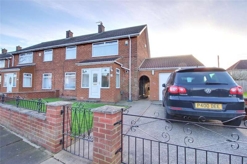 4 Bedrooms Semi Detached House for sale in Hoylake Road, Saltersgill
