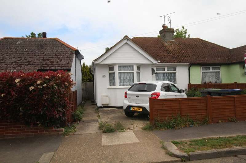 2 Bedrooms Semi Detached Bungalow for sale in Greenhill Gardens, Herne Bay, CT6