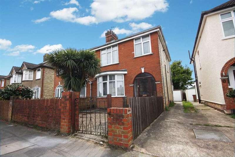 3 Bedrooms Semi Detached House for sale in Beverley Road, Ipswich