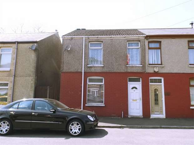 3 Bedrooms Semi Detached House for sale in Conduit Place, Taibach, Port Talbot, West Glamorgan