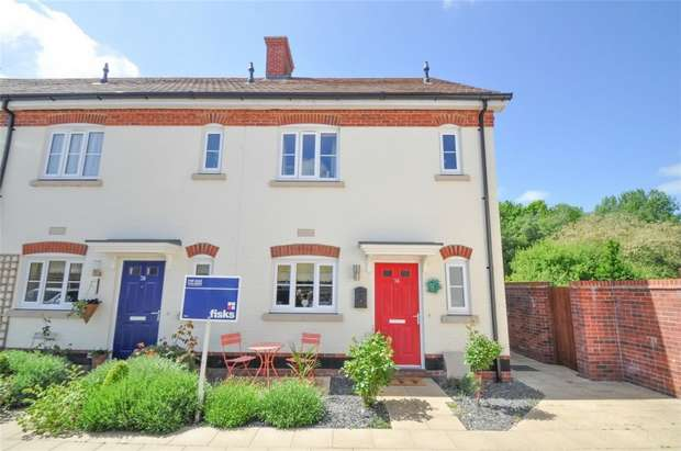 3 Bedrooms End Of Terrace House for sale in Tarrant Close, WIMBORNE, Dorset