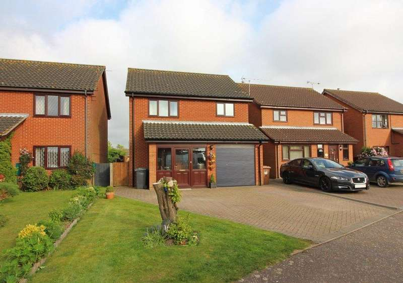 3 Bedrooms Detached House for sale in Westwick Drive, North Walsham