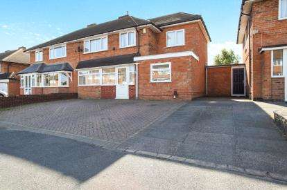 4 Bedrooms Semi Detached House for sale in Acacia Avenue, Birmingham, West Midlands