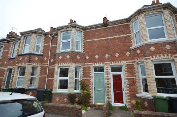 2 Bedrooms Terraced House for sale in Ladysmith Road, Heavitree, Exeter
