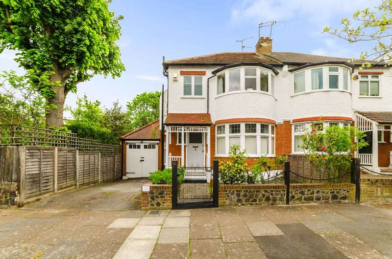 3 Bedrooms Semi Detached House for sale in Thirlmere Road, Muswell Hill, N10
