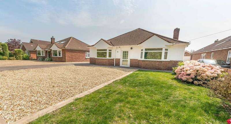 4 Bedrooms Detached Bungalow for sale in Barnes Lane, Sarisbury Green, Southampton SO31