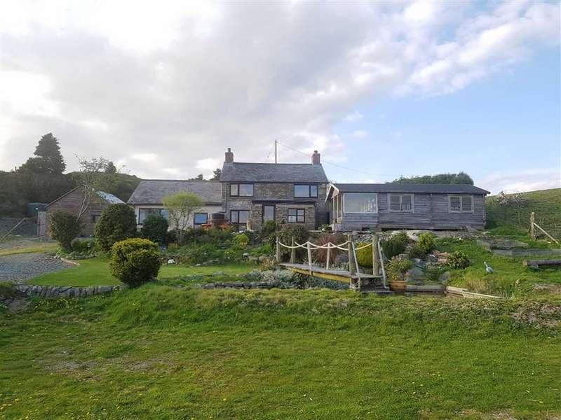 4 Bedrooms Property for sale in Penrhiwnewydd, Penrhyncoch, Aberystwyth