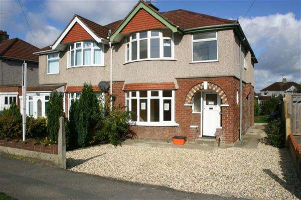 4 Bedrooms Semi Detached House for sale in Upham Road, Swindon