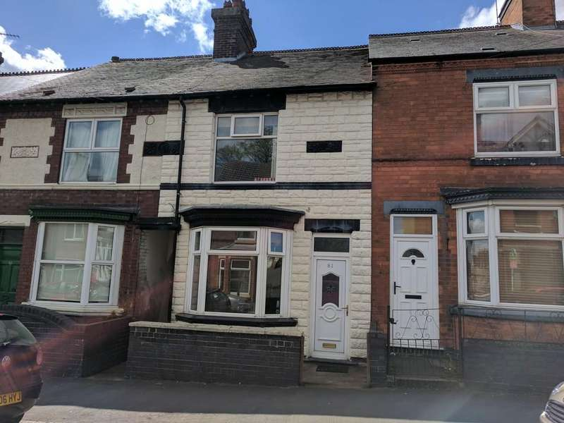 3 Bedrooms Terraced House for sale in Queens Road, Hinckley