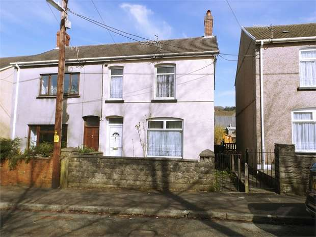 3 Bedrooms Semi Detached House for sale in Woodland Road, Crynant, Neath, West Glamorgan