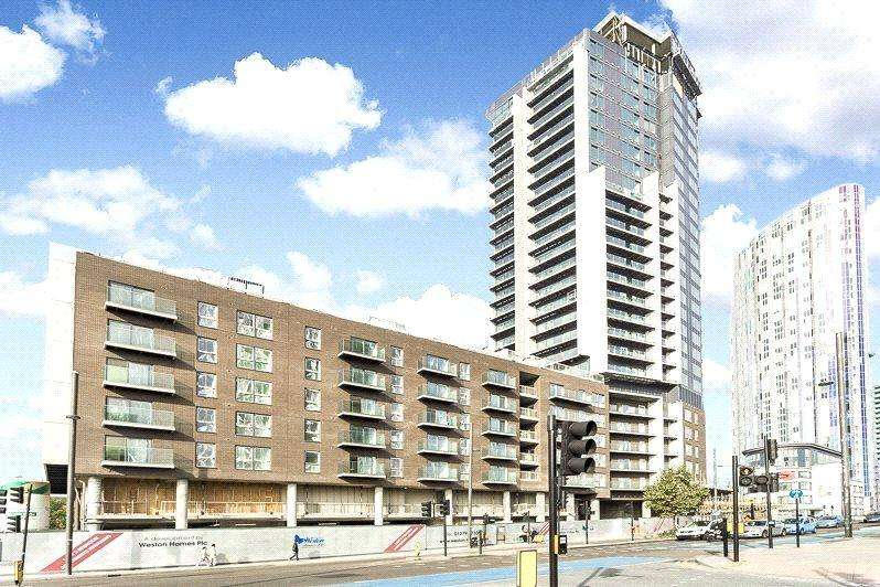 2 Bedrooms Apartment Flat for sale in Stratford Riverside, Stratford, E15