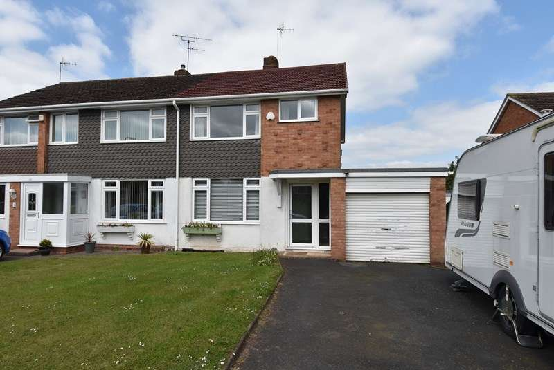 3 Bedrooms Semi Detached House for sale in Blackfriars Avenue, Droitwich