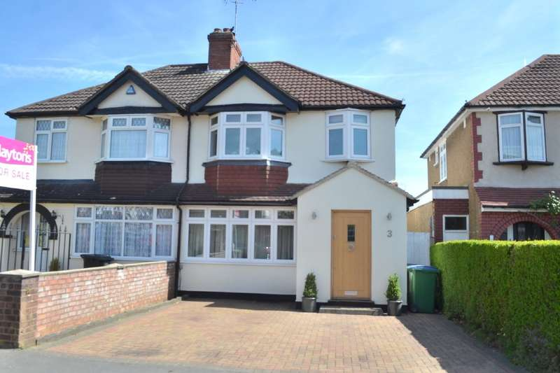 3 Bedrooms Semi Detached House for sale in Briar Road, Garston, Watford