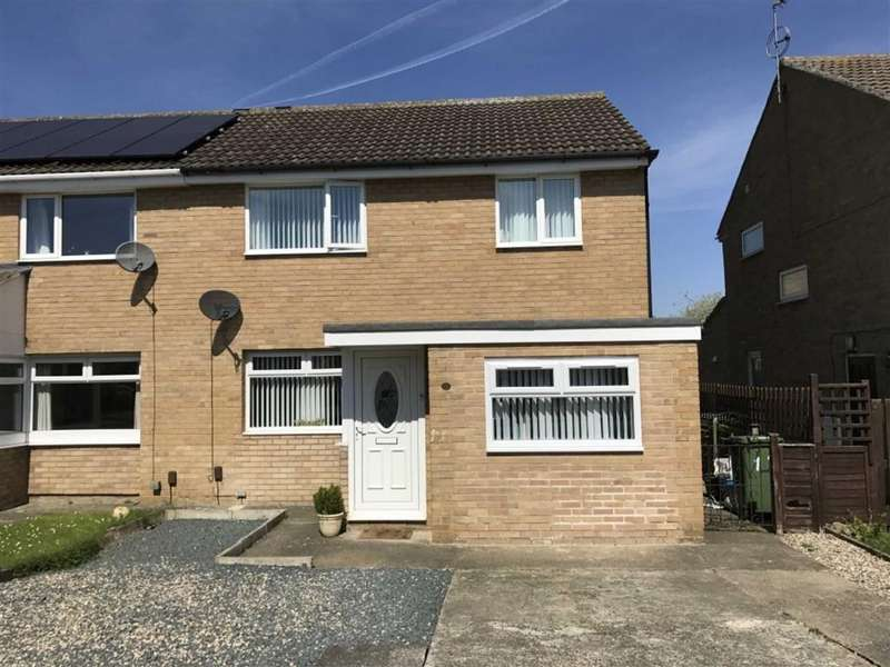 3 Bedrooms Semi Detached House for sale in Fortrose Close, Stockton-on-tees, Cleveland
