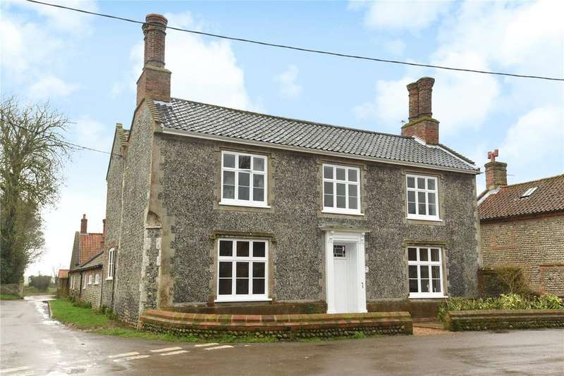 5 Bedrooms Detached House for sale in Church Street, Southrepps, Norwich
